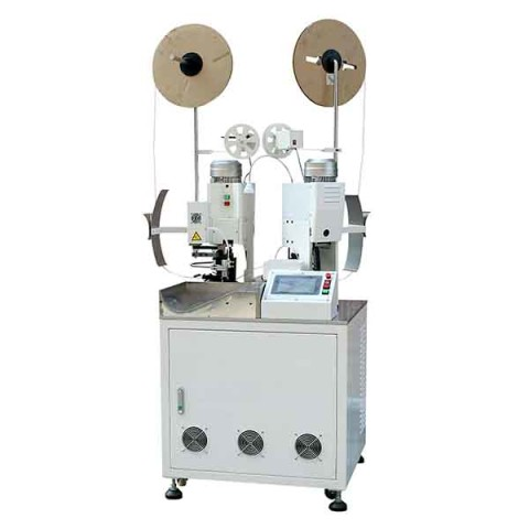 Double end crimping machine