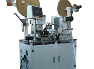 Flat ribbon cable crimping machine