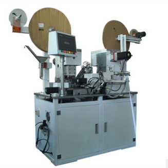 Flat ribbon cable crimping machine