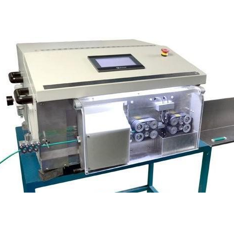 fully automatic coaxial cable cutting stripping machine